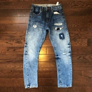 Zara Distressed Jeans-Boys Size 9